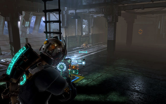 После того, как вы спуститесь вниз, вас тепло встретит Некроморф, но у вас не должно возникнуть проблем с ним - Исследуйте Greely  Побочные миссии: CMS Greely - Побочные миссии: CMS Greely - Dead Space 3 Руководство по игре