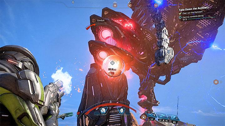 Стреляйте в конечности Архитекторов - Как победить Эос Остатка Архитектора?  |  Босс борется |  Прохождение - Битвы с боссами - Mass Effect: Руководство по игре Andromeda