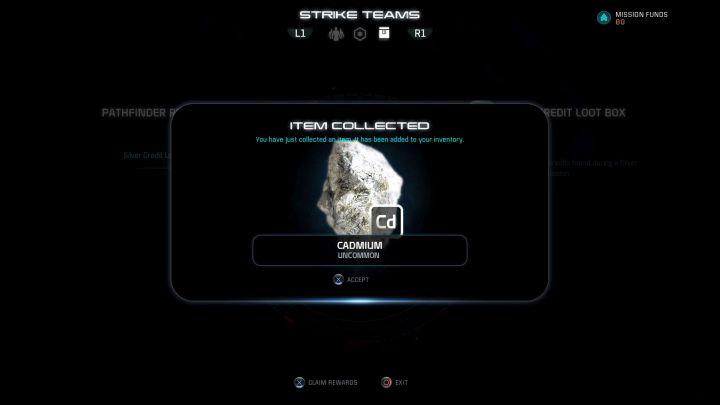 Даже самые основные и общие ресурсы могут быть полезны.  - ударные команды    Основы игрового процесса - Основы игрового процесса - Mass Effect: Руководство по игре Andromeda