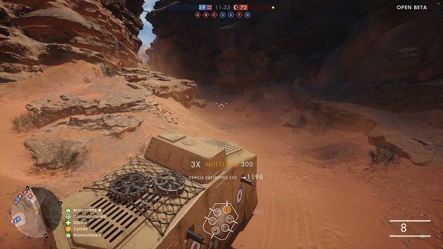 Stay frontally towards the battlefield - Tanks - Advice - Battlefield 1 Game Guide