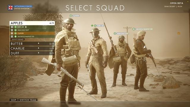 В начале каждого матча вы должны выбрать команду - Общие советы - Советы - Руководство по игре Battlefield 1