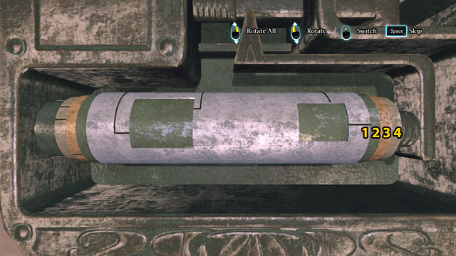 Rotate cylinder nr 1, so you can see two windows - Examine Robinsons baggage - Riddle On The Rails - Sherlock Holmes: Crimes and Punishments - Game Guide and Walkthrough