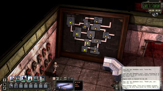 Ваше главное задание - открыть четыре клапана, чтобы снизить опасно высокое давление - Highpool - подземный |  Хайпул - локации - Хайпул - локации - Руководство по игре и прохождение Wasteland 2