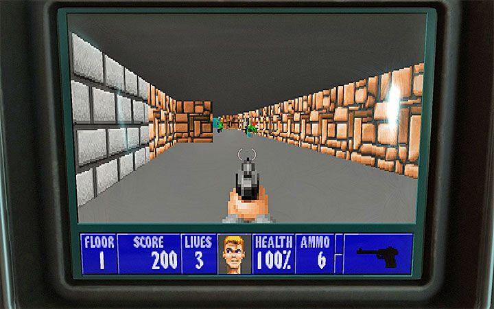 Игра увеличивает изображение - части машины все еще будут видны по краям экрана - Как играть в Wolfenstein 3D в Wolfenstein Youngblood?  - Wolfenstein: Youngblood - Руководство по игре и прохождение игры