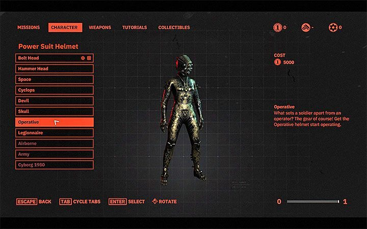 You can change the skins for the main body armor and the helmet - Can I change my characters appearance in Wolfenstein Youngblood? - FAQ - Frequently Asked Questions - Wolfenstein Youngblood Guide