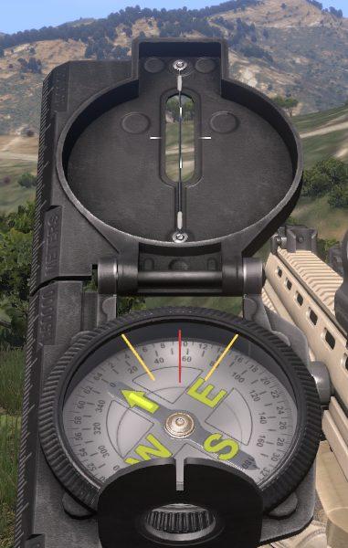 Compass - Navigation - Gameplay Basics - Arma III - Beta - Game Guide and Walkthrough