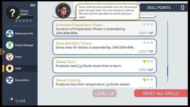 < - Skills in Cooking Simulator - Abilities and skills (unlocks) - Cooking Simulator Guide