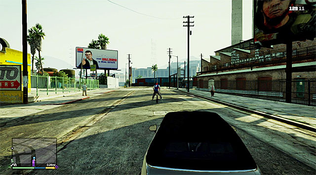 The best method to catch up with the thief is in a fast car - Bike thief (1-2) - Random events - Grand Theft Auto V Game Guide