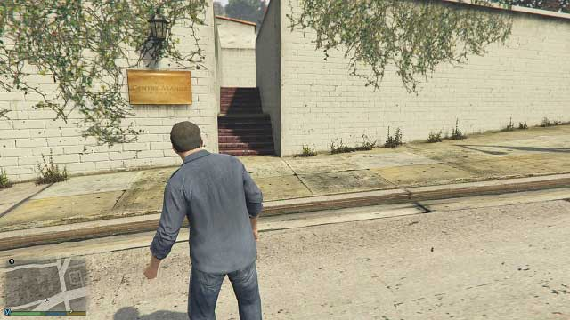 Entrance to this part of the hotel. - Inscriptions - Murder Mystery - Grand Theft Auto V Game Guide