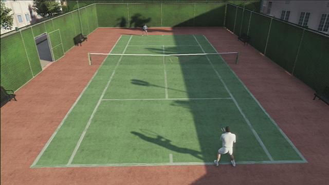 Tennis court - Tennis   Activities - Activities - Grand Theft Auto V Game Guide