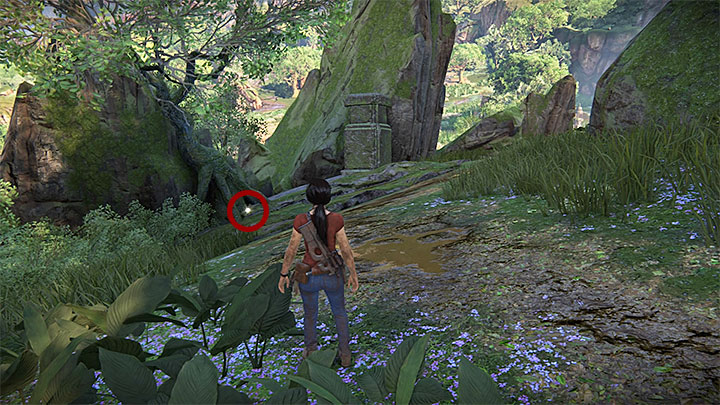 This secret is located in the east part of the map - 4 - Treasures in Wester Ghats | Secrets - Secrets - Uncharted: The Lost Legacy Game Guide