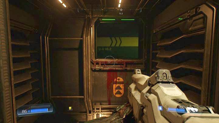 Как только вы найдете первую охрану, вернитесь к перекрестку туннеля и идите прямо - Операции с ресурсами |  Секреты - Секреты - Руководство по игре в Doom и прохождение