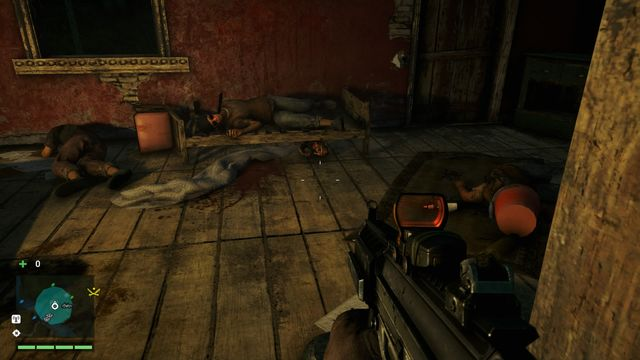 The mask is located inside the house, under one of the beds - Southern and central Kyrat - Yalungas Masks - Far Cry 4 - Game Guide and Walkthrough