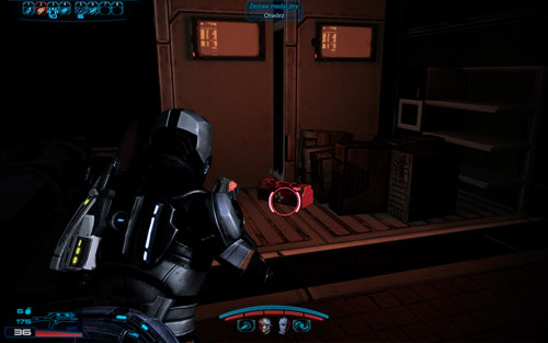 Medkit IV [100 EXP] -in the container near the evacuation shuttle - Namakli - Walkthrough - Mass Effect 3: Leviathan - Game Guide and Walkthrough