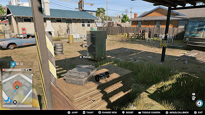 You need to infiltrate a small backyard - watch out especially for the guard dog that should be eliminated quietly (e - Key data - locations from 13 to 24 - Collectibles - Watch Dogs 2 Game Guide