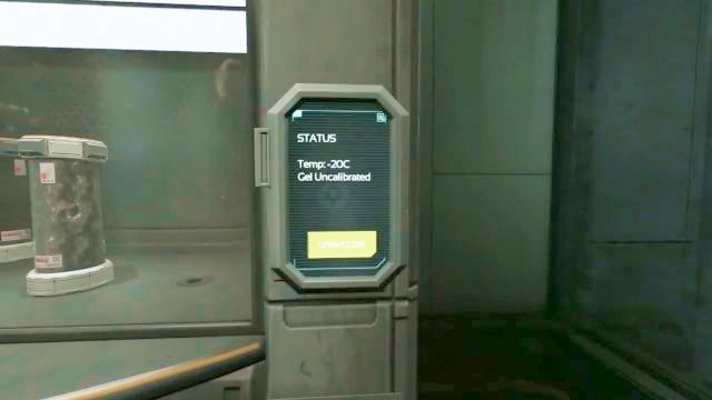 Smoke will come out of the terminal upon activation. - Omicron station | Riddles and puzzles of SOMA Game - Riddles and puzzles - SOMA Guide