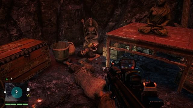 You will find the mask inside a cave, on the lower level - Southern and central Kyrat - Yalungas Masks - Far Cry 4 - Game Guide and Walkthrough