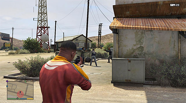 Eliminate the two bikers - Countryside gang fight - Random events - Grand Theft Auto V Game Guide