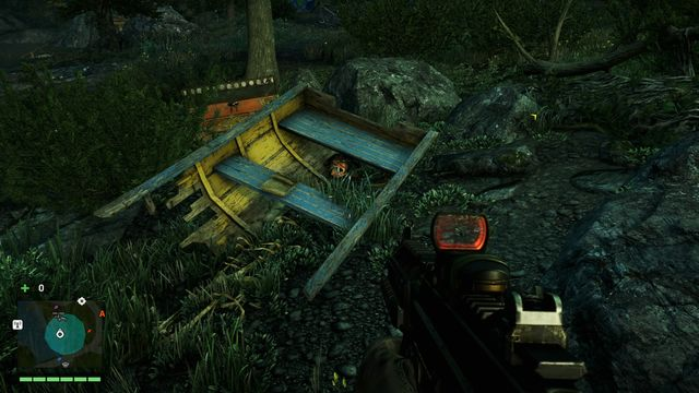 You can find the mask in the wreck of a boat - Northern and north-eastern Kyrat - Yalungas Masks - Far Cry 4 - Game Guide and Walkthrough