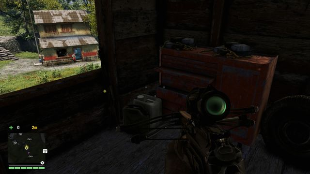 If you do not have the required weapon,, obtain it beforehand, in the marked spot. - Eye for an eye - Activities - Far Cry 4 - Game Guide and Walkthrough