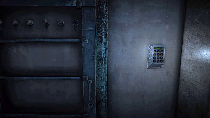 Type in the four digit code here - How to deal with the electronic lock in the hospital (Red)? - Solving the puzzles - Get Even Game Guide