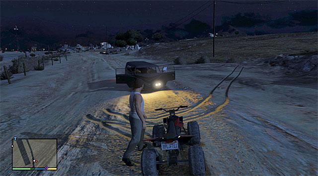The suspicious car - Abandoned vehicle - 1 - Random events - Grand Theft Auto V Game Guide