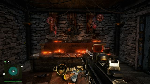Inside the shrine - Northern and north-eastern Kyrat - Yalungas Masks - Far Cry 4 - Game Guide and Walkthrough