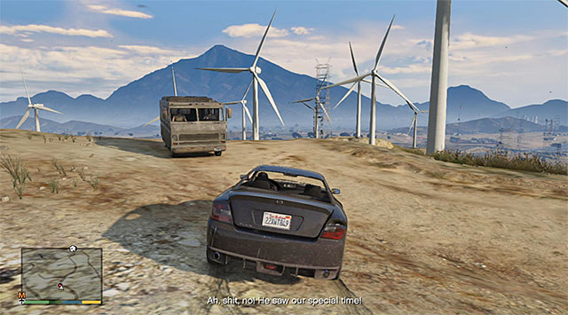 The camper - Abandoned vehicle - 2 - Random events - Grand Theft Auto V Game Guide
