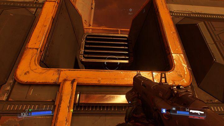 Продолжайте идти вперед и наблюдайте за правильной стеной - Операции с ресурсами |  Секреты - Секреты - Руководство по игре в Doom и прохождение
