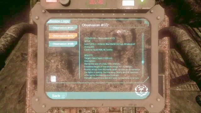 The terminal is one of the few collectibles in the area. - On the way to the Tau station | Collectibles in SOMA Game - Collectibles - SOMA Guide
