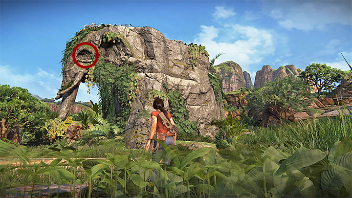 This treasure can be found in the east part of the map - 4 - Treasures in Wester Ghats | Secrets - Secrets - Uncharted: The Lost Legacy Game Guide