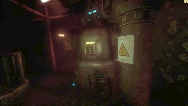 Switching this lever will allow you to activate a very helpful robot. - On the way to the Tau station | Collectibles in SOMA Game - Collectibles - SOMA Guide