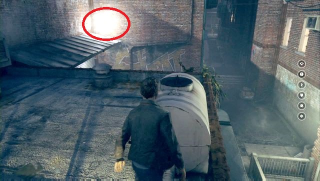 The second secret can be found right next to the first one. - Chronon Sources (act IV and V) - Secrets - Quantum Break - Game Guide and Walkthrough