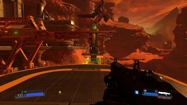 В конце уровня вы пройдете через металлическую конструкцию в большой шлюз, за которым находятся три более крупных противника - Операции с ресурсами |  Секреты - Секреты - Руководство по игре в Doom и прохождение