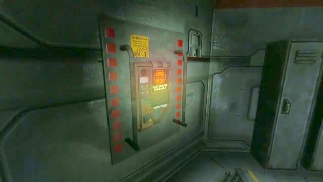 Data Buffer panel. - Tau station | Collectibles in SOMA Game - Collectibles - SOMA Guide