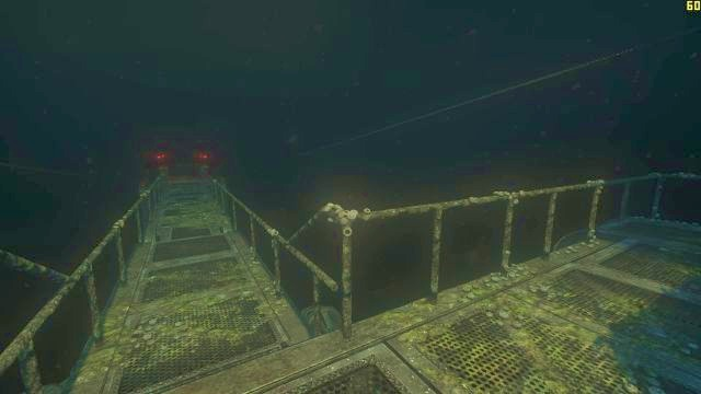 The passageway in front is a dead end. - The descent | Riddles and puzzles of SOMA Game - Riddles and puzzles - SOMA Guide