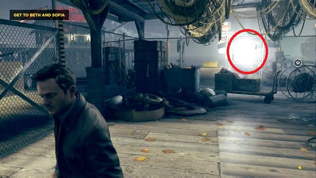 You will find the secret hidden behind a gate. - Chronon Sources (act IV and V) - Secrets - Quantum Break - Game Guide and Walkthrough