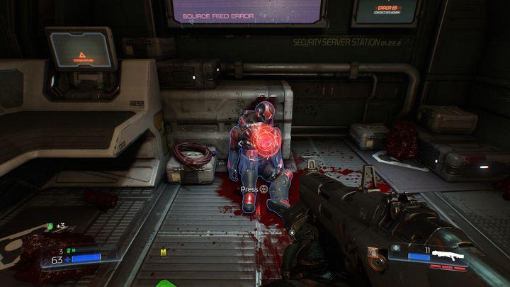 Третий охранник может быть найден в последнем коридоре, который ведет к терминалу VEGA - Resource Operations |  Секреты - Секреты - Руководство по игре в Doom и прохождение