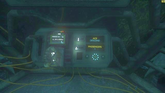 Set the values and then pull the lever. - The descent | Riddles and puzzles of SOMA Game - Riddles and puzzles - SOMA Guide