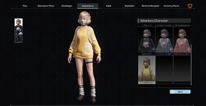 Lynn has 7 outfits - Adventure characters in Ring of Elysium - Characters - Ring of Elysium Guide and Tips
