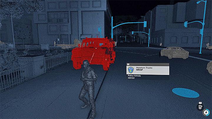 Полиция в режиме NetHack показана красным цветом - Общие советы - Основы - Руководство по игре Watch Dogs 2