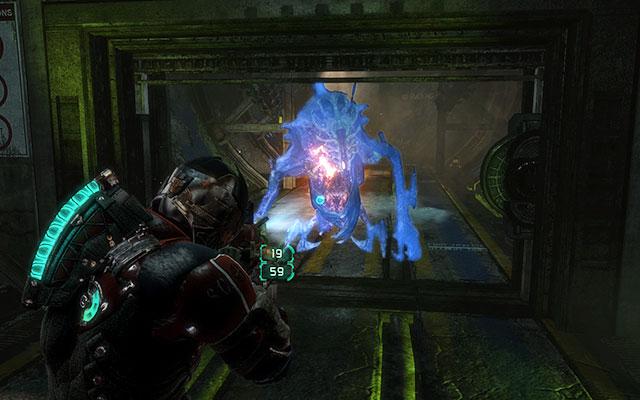 В следующем коридоре вы увидите дисплей, показывающий набор символов, представляющих Воина - Исследуйте Хранение Артефактов    Побочные миссии: Хранение артефактов - Побочные миссии: Хранение артефактов - Dead Space 3 Game Guide