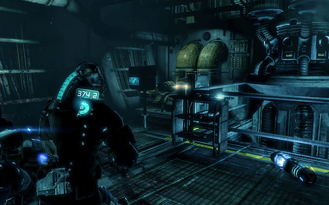 Youll get to the room, where you can start ship airing - Restore oxygen to the ship | Co-op missions: C.M.S. Brusilov - Co-op missions: C.M.S. Brusilov - Dead Space 3 Game Guide