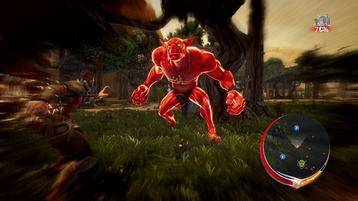 This enemy should be attacked with the force. - Types of enemies in Extinction - Basics - Extinction Game Guide