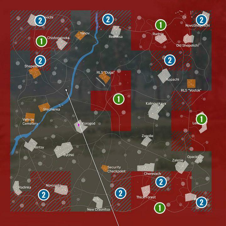 1 - Карта Fear the Wolves - Основы - Руководство по игре Fear the Wolves