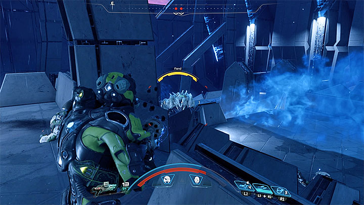 Готовьтесь - вы также столкнетесь с демоном - Как победить Меч Архонтов в Меридиане?     Босс борется    Прохождение - Битвы с боссами - Mass Effect: Руководство по игре Andromeda