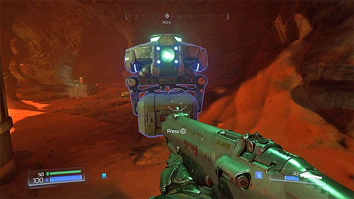В игре 12 полевых дронов - Типы секретов в Doom - Секреты - Руководство по игре в Doom и прохождение