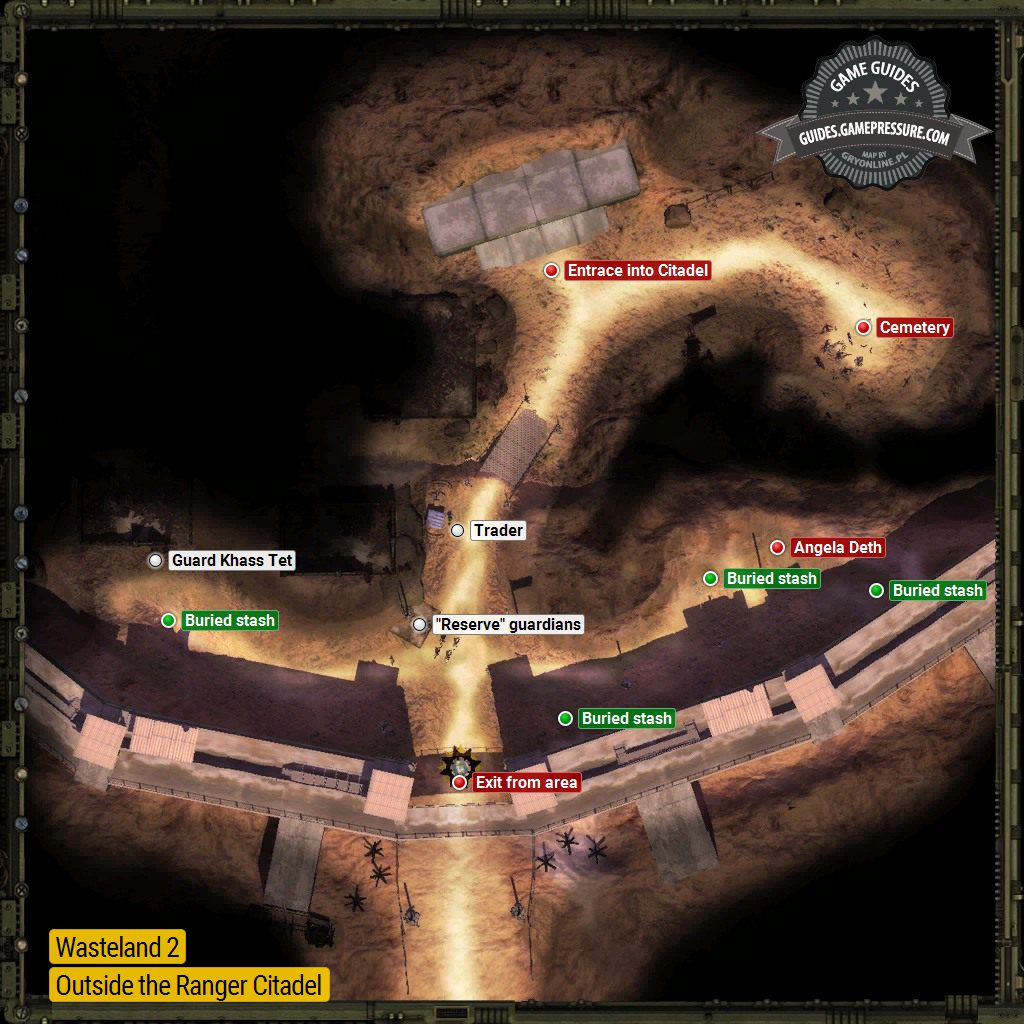 Wasteland 2 - Outside the Ranger Citadel