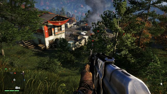 The armored soldier is the most difficult to eliminate. - Kheta Manor - Outposts - One alarm - Far Cry 4 - Game Guide and Walkthrough