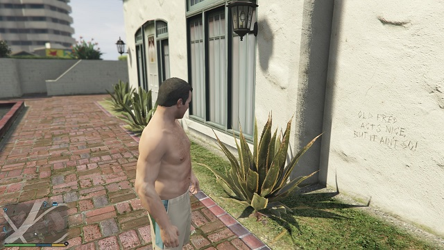 And here is our first inscription. - Inscriptions - Murder Mystery - Grand Theft Auto V Game Guide